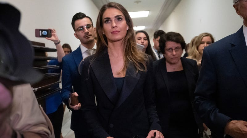 Illustration for article titled Hope Hicks Admits She's a Liar, But Not the Bad Kind of Liar