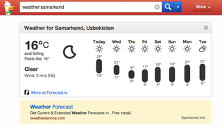 Illustration for article titled A legjobb időjárás-jelentésre váltott az anonim kereső