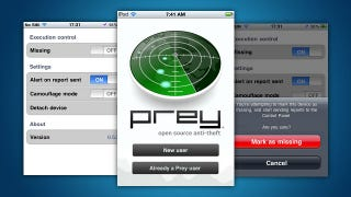 Illustration for article titled Track-and-Recover App Prey Can Now Find Your Lost or Stolen iOS Device