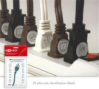 Illustration for article titled Plug IDs Makes Crawling Under Your Desk Easier