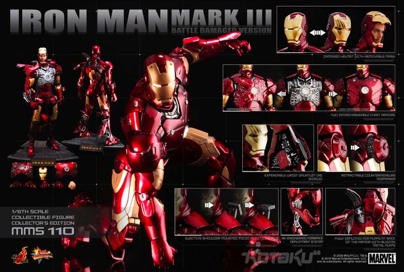 Illustration for article titled 1:6 Scale Iron Man Is Almost As Detailed As 1:1 Scale Iron Man