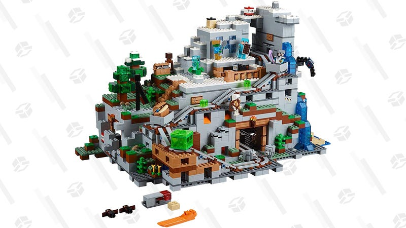 LEGO Minecraft The Mountain Cave Set | $200 | Amazon