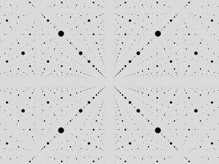 Hipnóticos GIFs que convierten la geometría en arte