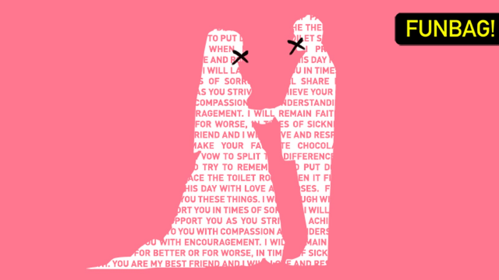 Do Not Write Your Own Wedding Vows