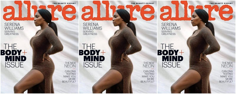 Illustration for article titled Profile in Courage: Serena Williams Covers Allure's 'Body & Mind' Issue