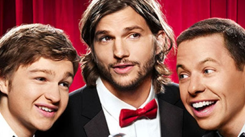 Illustration for article titled CBS reveals Ashton Kutcher's Two And A Half Men character, announces that network will continue to do very well