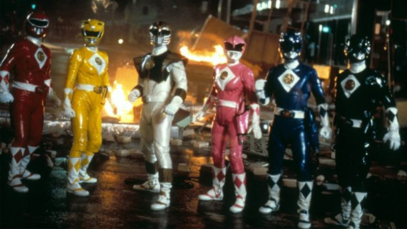 The Power Rangers hit the big screen, and brought the padding to prove it!