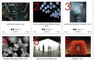 Illustration for article titled 17 Artsy, Architectural LED Sculptures