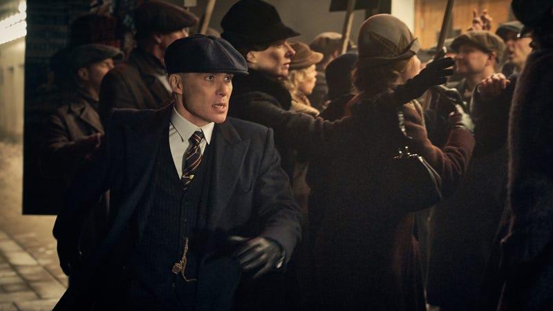 Cillian Murphy stars in Peaky Blinders
