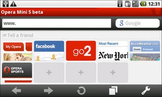 Illustration for article titled Opera Mini 5 Browser Beta Out Now For Android