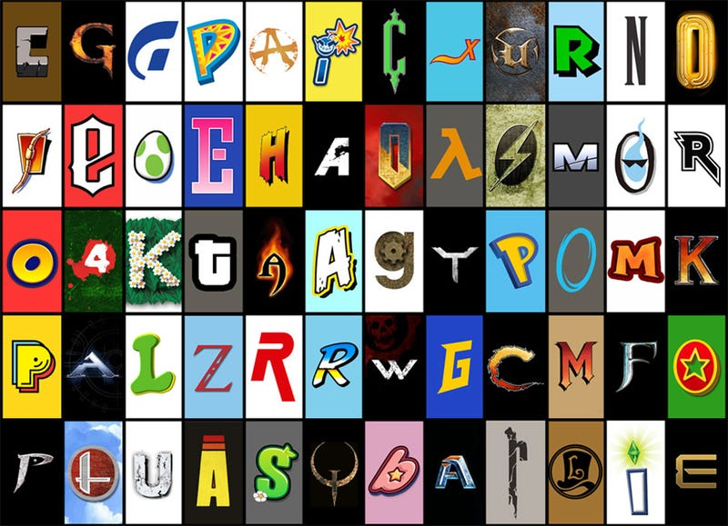 Illustration for article titled Where Do These 48 Video Game Fonts Come From?