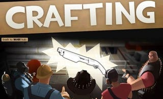 Illustration for article titled Team Fortress 2 Craftily Crafts Crafting Update