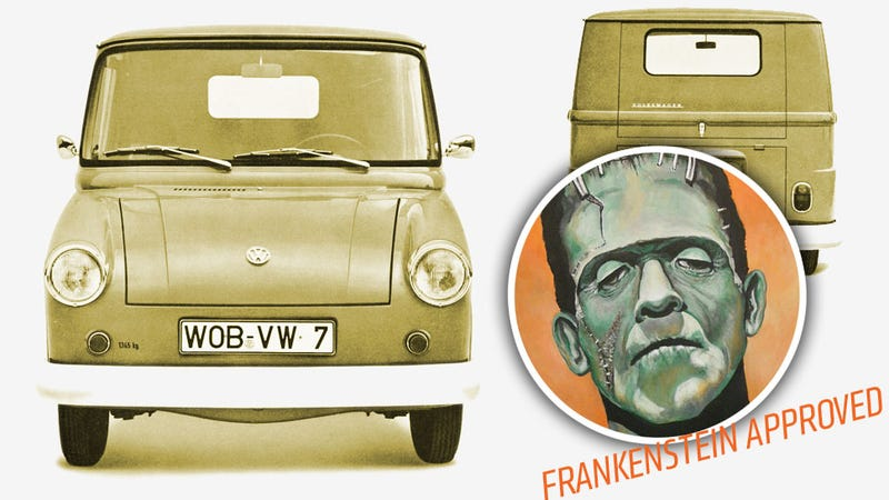 Illustration for article titled The Finest Frankenstein Car Is The Fridolin