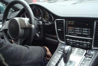 The Newest Spy Shots Of The 2010 Porsche Panamera Show An Interior That  Just Taunts You To Do Your Best Maverick Impersonation, Surrounding The  Driver With ...