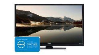 Illustration for article titled Get this Sharp 50-Inch LED HDTV and a $200 Dell Gift Card for $548