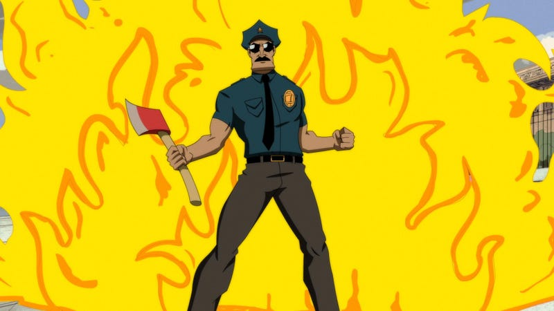 Illustration for article titled This Week's TV: Axe Cop comes to network TV! And fights space zombies!
