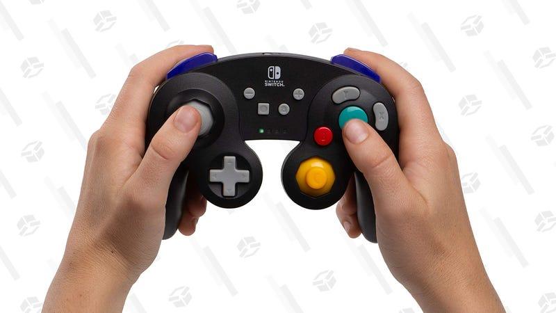 PowerA Wireless Controller for Nintendo Switch (Black) | $37 | Amazon