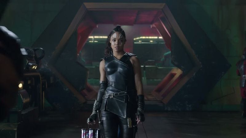 Tess Thompson as Valkyrie in Thor: Ragnarok