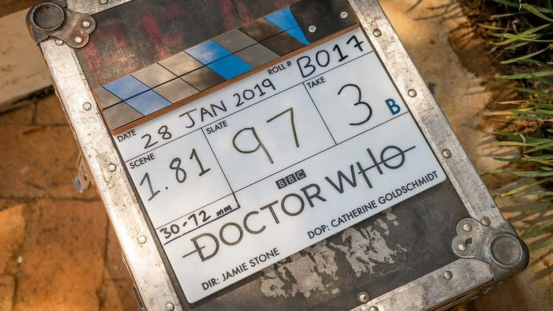 A slate for Doctor Who series 12.