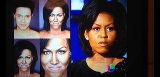 Michelle Obama and makeup artistPaolo BallesterosYouTube screenshot
