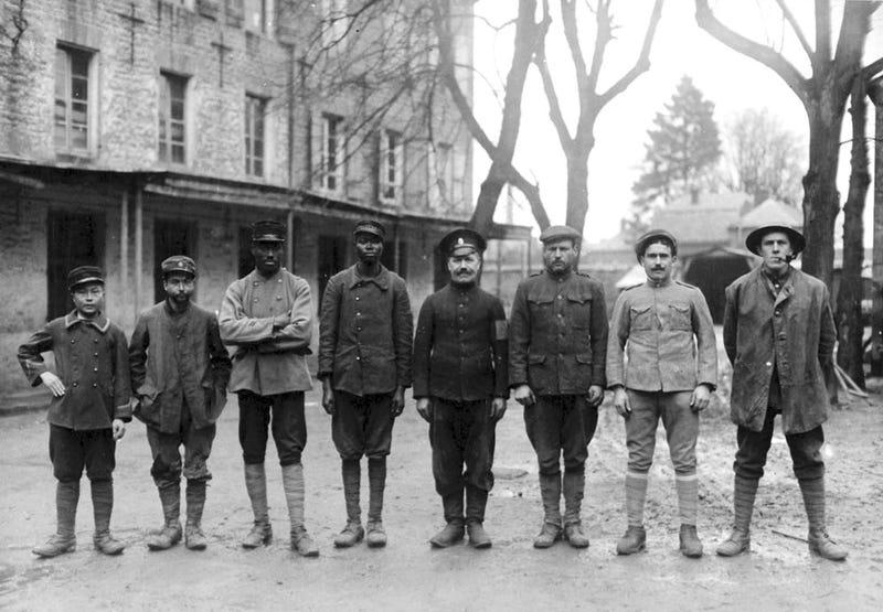 Illustration for article titled Egy kép arról, hogy az első világháború tényleg világháború volt