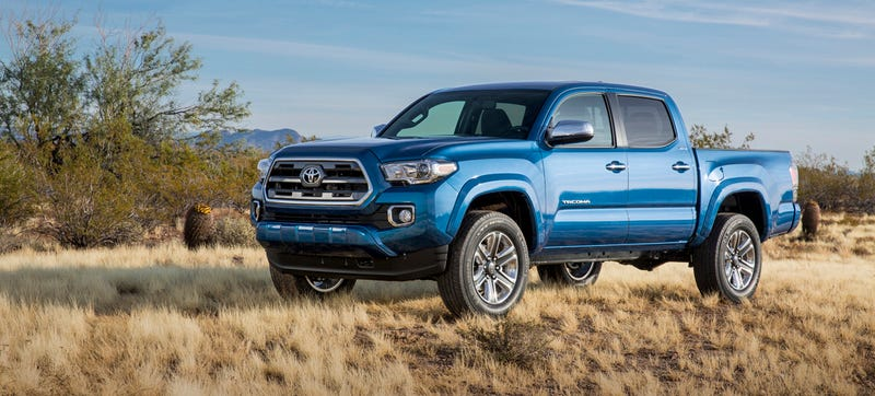 Illustration for article titled 2016 Toyota Tacoma: This Is More Of It