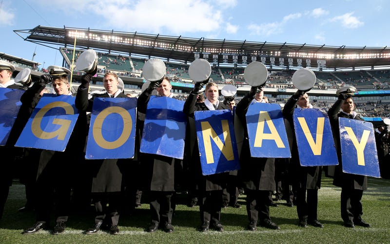 """Illustration for article titled Navy Football Drops """"Load The Clip"""" As Team Motto In Wake Of Insensitivity Claims"""