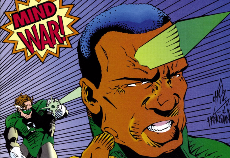 Illustration for article titled That Time DC Comics' First Black Superhero Kicked Hal Jordan's Ass