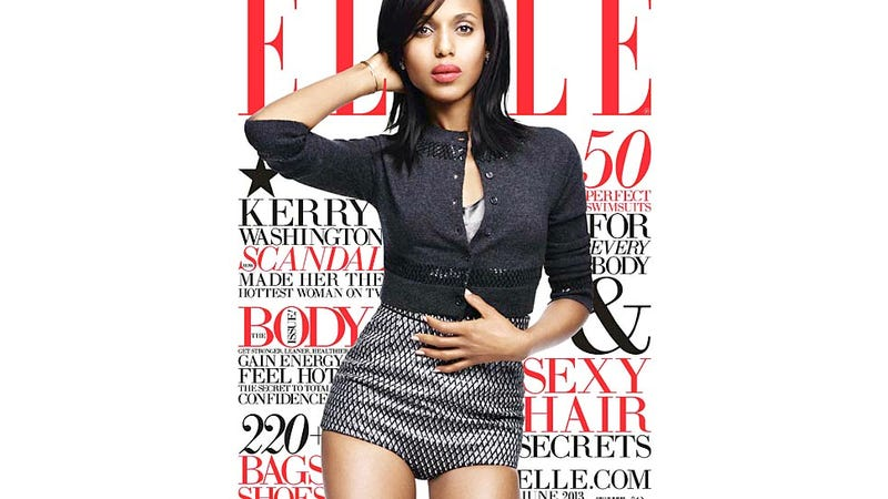 Illustration for article titled Kerry Washington Finally Got A Major Ladymag Cover