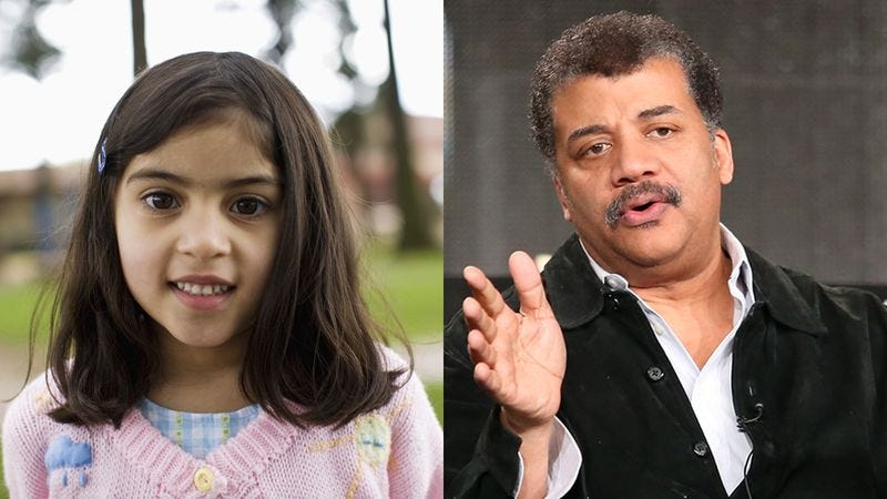 Illustration for article titled Awesome: When A Little Girl Told Neil DeGrasse Tyson She Wanted To Live On Jupiter, He Completely Shut Her Down