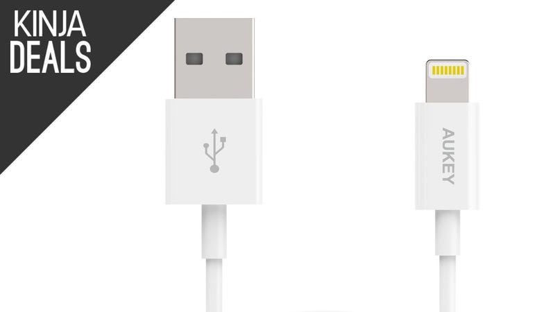 Illustration for article titled Stock Up and Save on Popular Lightning Cables