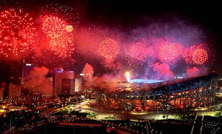 Illustration for article titled Beijing Olympics Fireworks Line Will Light Up China This Spring Festival