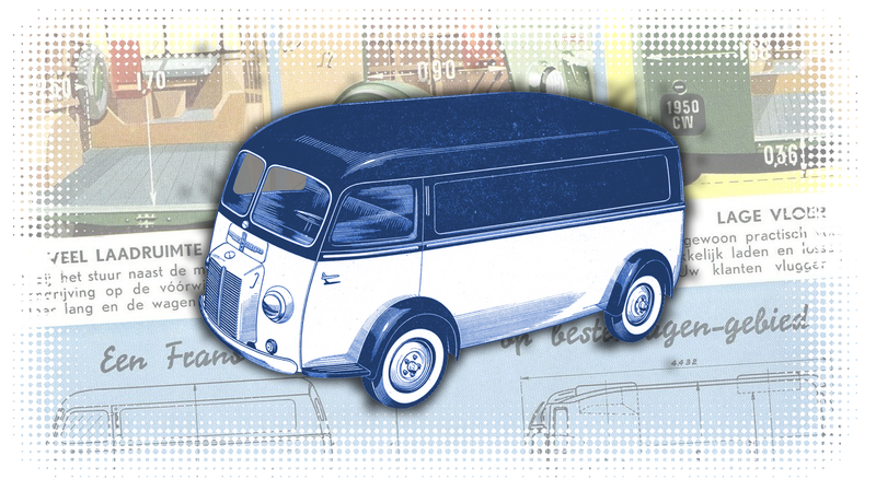 Illustration for article titled The First Real Minivan Wasn't What You Thought It Was