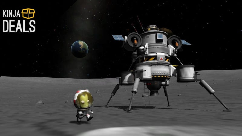Illustration for article titled Save 40% on Kerbal Space Program: It's Not Rocket Science