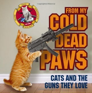 Illustration for article titled Cats with guns!?!