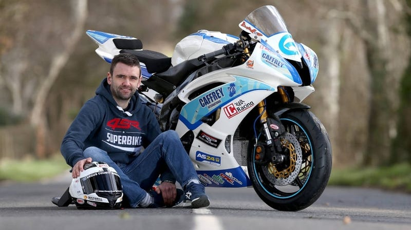 Illustration for article titled Motorcycle Racer William Dunlop Dies In Practice Crash For Irish Road Race
