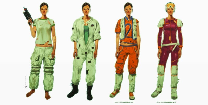 Illustration for article titled Alien: Isolation's Character Art Is Just The Best