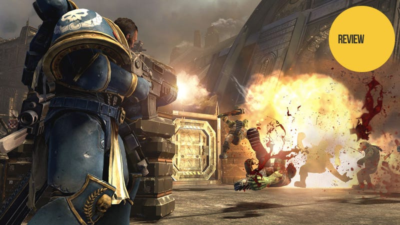 Illustration for article titled Warhammer 40,000: Space Marine: The Kotaku Review