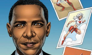 Illustration for article titled Obama En Route To Becoming Most Popular Comic Book Character Ever