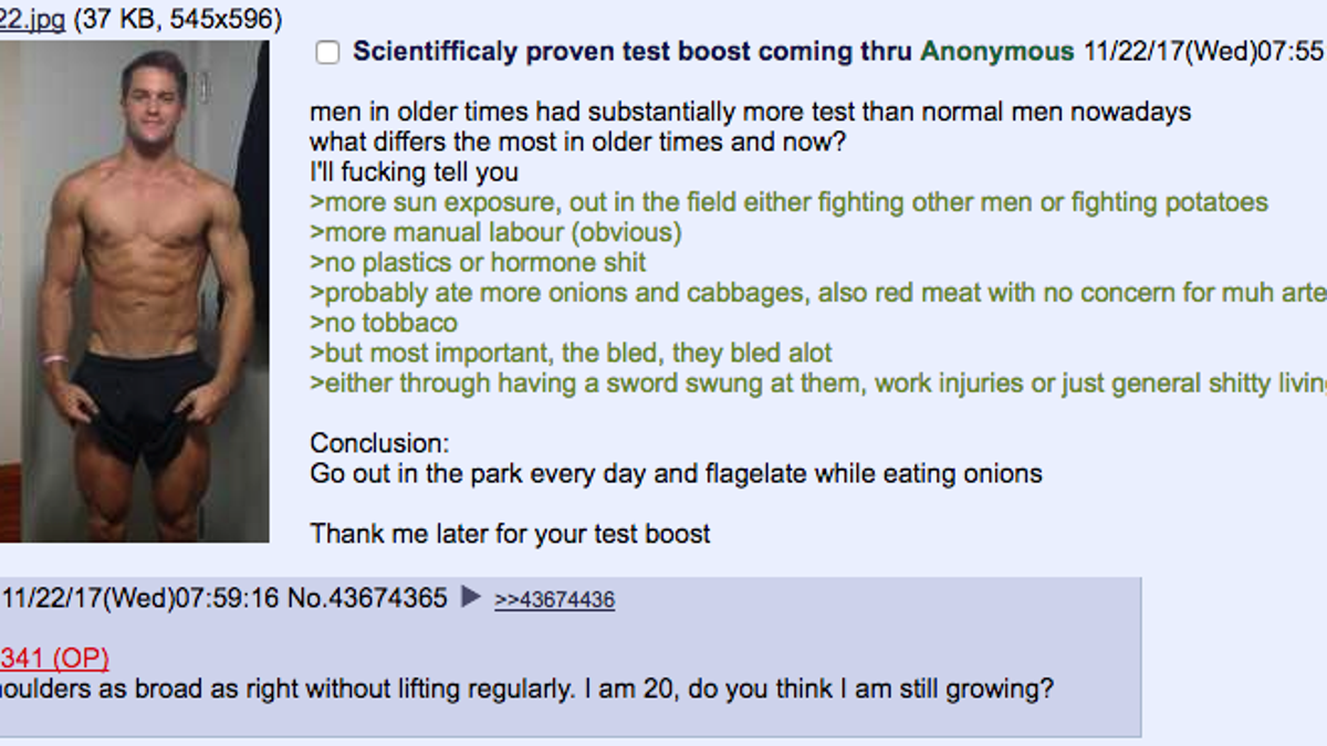 Dumbasses on 4chan are eating raw onions to become more