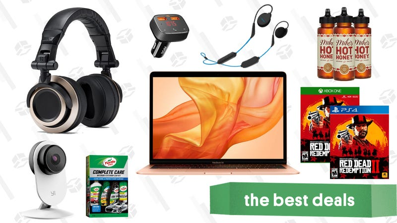 Illustration for article titled Wednesday's Best Deals: Hot Honey, Baby Clothes, MacBook Air, and More