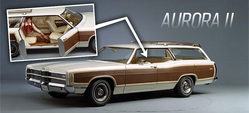 this old ford concept wagon really should have happened
