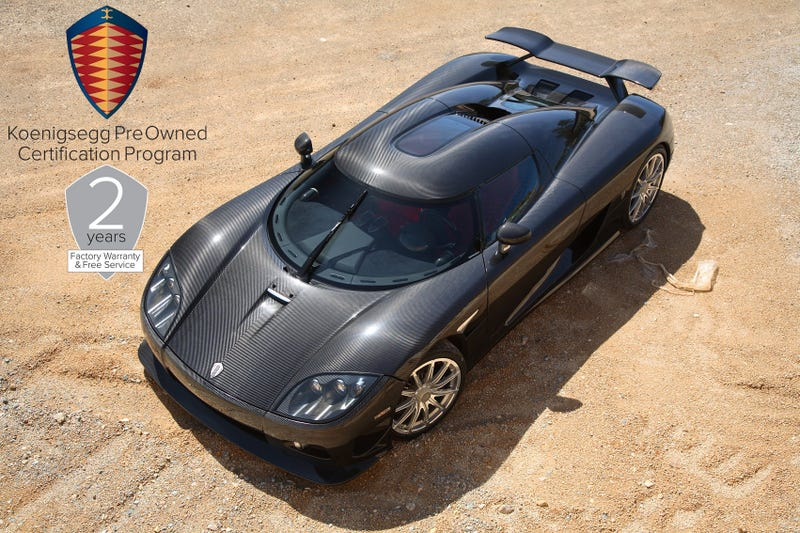 Koenigsegg Will Sell You A Used Supercar With A Two-Year Warranty