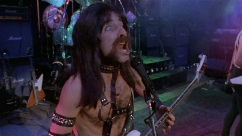 Harry Shearer as Derek Smalls in This Is Spinal Tap.
