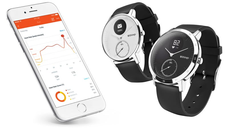 Illustration for article titled Withings Hides Top Fitness Tracking Features in Attractive Watch