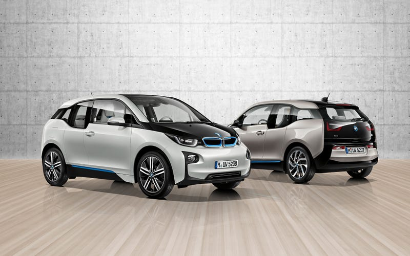 Illustration for article titled I test drove a BMW I3 yesterday...