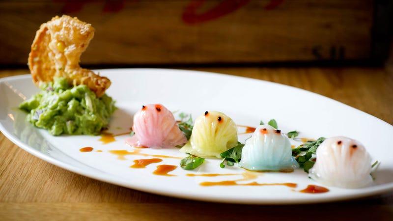 Illustration for article titled Pac-Man Dumplings Make for Adorable Dim Sum