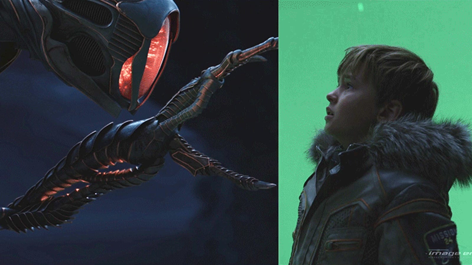 Here's a Great Look at the Lost in Space VFX Used to Put Will Robinson in Serious Danger