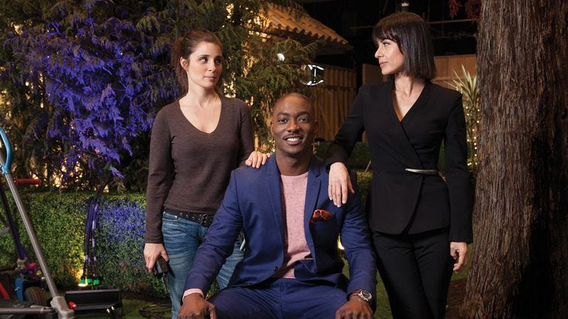 Shiri Appleby, B.J. Britt, and Constance Zimmer on UnREAL (Photo: Lifetime)