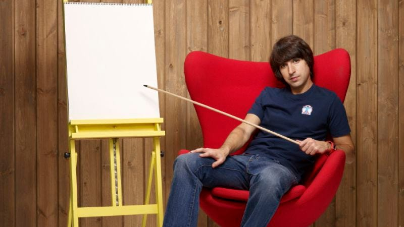 "Illustration for article titled Important Things With Demetri Martin: ""Timing"""